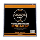Groove Vinyl 12 Inch Single LP Premium Outer Record Sleeves (50 Pack)