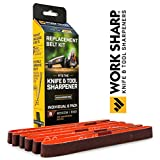 Work Sharp WSSA0002704 Medium 220 Replacement Belt Kit
