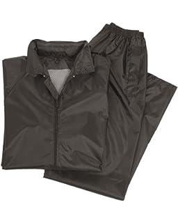 1b3d2b93210ee Fladen Rainsuit 911 Regenanzug Jacke und Hose grün oder schwarz ...