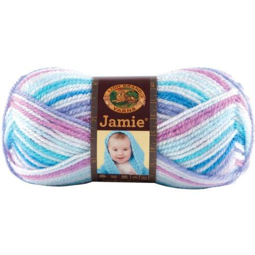 Lion Brand Yarn 881-203 Jamie Yarn, Twinkle Stripes