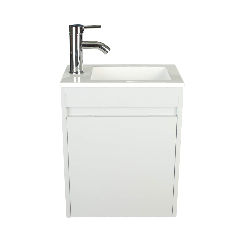 Bathroom Vanity Wall Mounted Small Bathroom Vanity With Ceramic