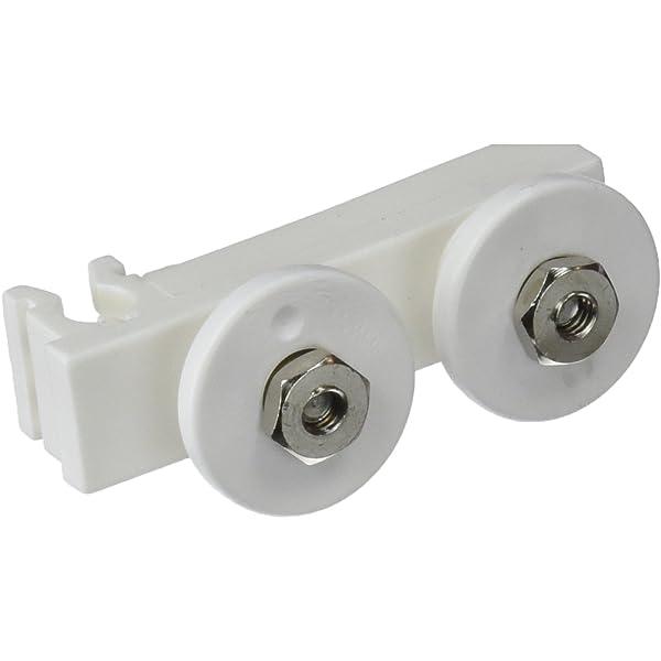 ROCA Kit Rodamientos para Mampara Supra Blanco AM99086201