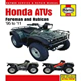 Honda ATVs, Haynes Manuals Editors, 1563929902