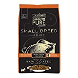 10 Pounds Dog Food - Canidae Pure Petite Raw Coated Chicken Dog Food 10Lb