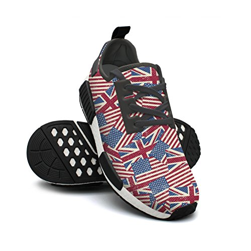 Outdoor Nmd s Sport U Shoes Flags Shoes Colorful Womens Running 0gvpwq