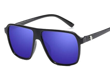 DaQao - Gafas de sol de aleación de metal ...