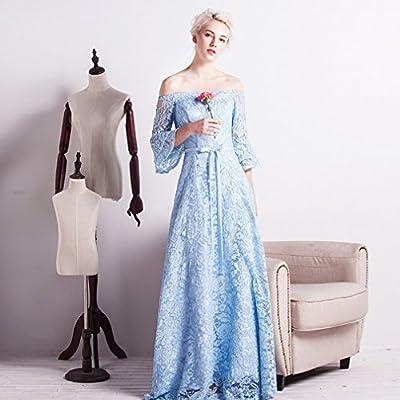 7a1981f87 CXY - Vestido para dama de honor large azul celeste. Cargando imágenes.