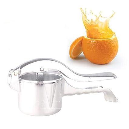 WSJS Exprimidor de Frutas multifunción Apple exprimidor Manual fórceps Naranja exprimidor Herramienta hogar cinturón portátil