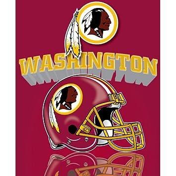 Amazon Washington Redskins Gridiron Fleece Throw Blanket Home Simple Redskins Throw Blanket