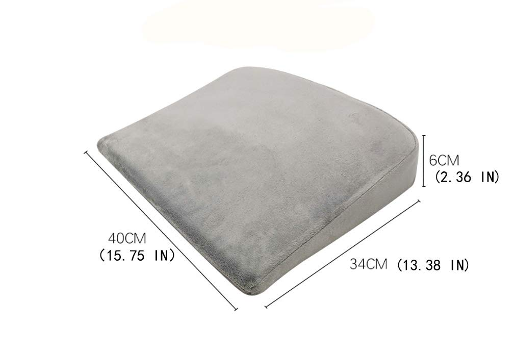 Baby Anti Acid Reflux Pillow Anti-Spit Milk Baby Wedge Reflux Reducer Slope Shape Pillow Color White