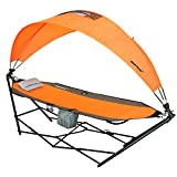 Driftsun Portable Lawn, Patio and Camping Hammock with Canopy For Sun Protection and Comfort