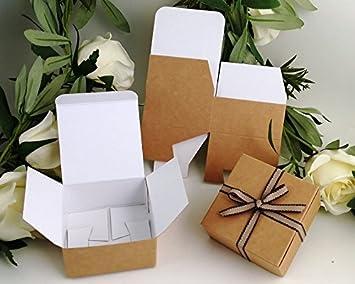 Pequeñas cajas de regalo (código # F) papel Kraft caja de regalo de cartón