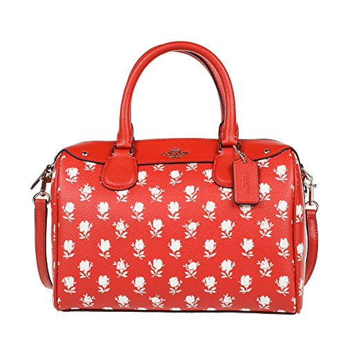 (coach F38160) Mini Bennett Satchel In Badlands Floral Print Coated Canvas