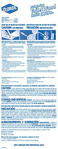 Clorox Disinfecting ToiletWand Refills