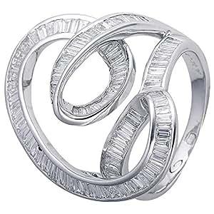 Verona Women's 18K Pure Gold Diamond Ring - 7.0