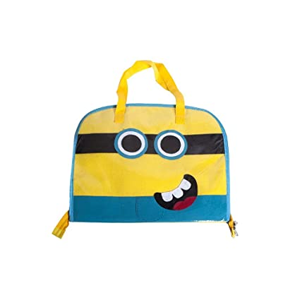 0eca2254297 Buy Li ll Pumpkins Yellow Minion Drawing Bag Online at Low Prices in India  - Amazon.in