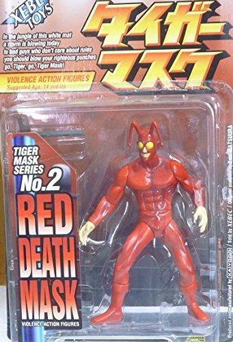 Violence Action Figures No.2 RED DEATH MASK Tiger Mask Series