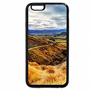 iPhone 6S / iPhone 6 Case (Black) road to a beautiful valley hdr