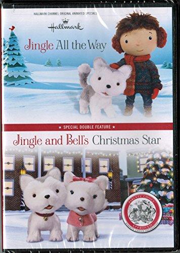 Jingle All the Way and Jingle and Bell's Christmas Star DVD: Hallmark Double ()