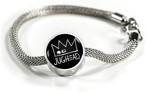 Jughead Jones – Pulsera de acero de lujo inspirada en Riverdale (Opt): Amazon.es: Juguetes y juegos