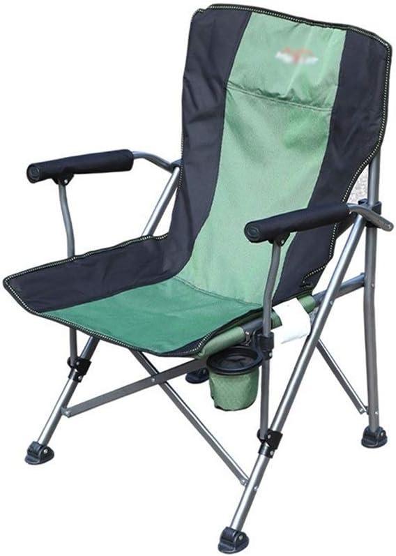 GWW Decorative Stool -Portable Beach Chair, Camping Chair Balcony Chair Outdoor Chair Industrial Chair Home Chair Lunch Break Chair Size: 6095CM Foldable
