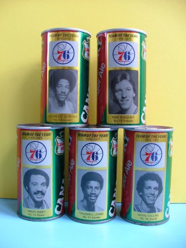 philadelphia-76ers-canada-dry-ginger-ale-soda-cans-team-of-the-year-1976-1977