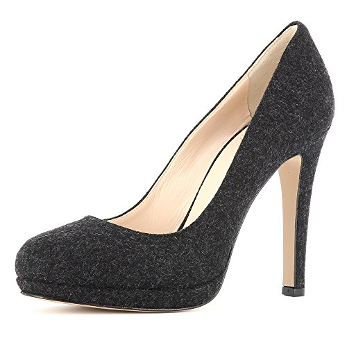 Evita ShoesCRISTINA - caño medio Mujer negro