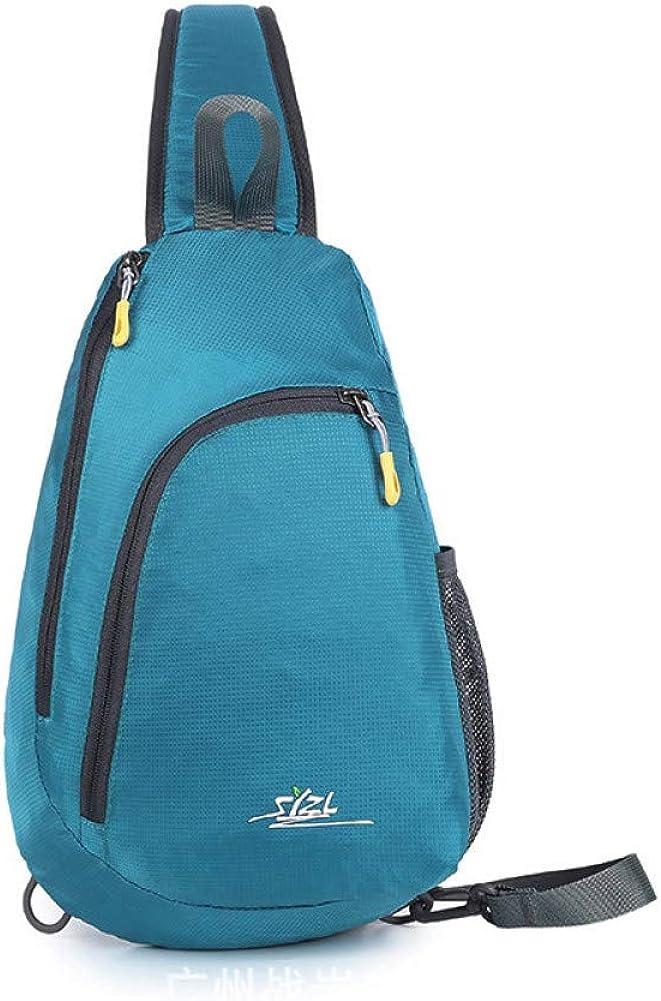 HLPHHJ Travel Messenger Bag Chest Bag for Men Casual Nylon Crossbody Bags for Women Anti-Theft Cross Body Bag Men sac a Main