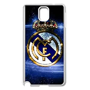 Samsung Galaxy Note 3 Cell Phone Case White Real Madrid Ojcdh