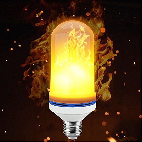 Lakeside Living LED Dancing Flame Effect Torch Bulb 1-Pack - Decorative Lifelike Flame Effect for Indoor/Outdoor Decor