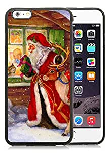 Provide Personalized Customized iPhone 6 Plus Case,Merry Christmas Black iPhone 6 Plus 5.5 TPU Case 59