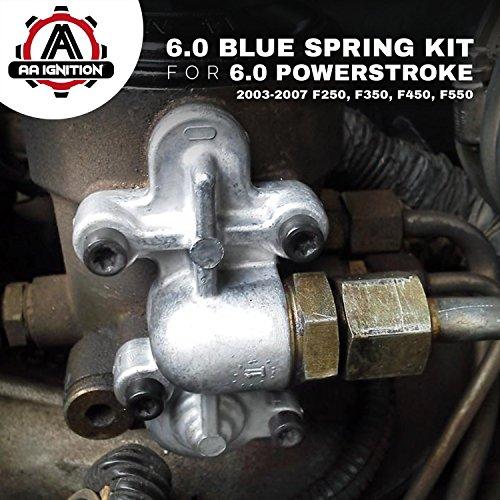 6.0 Blue Spring Kit Upgrade - Fuel Regulator Kit - Fits ...