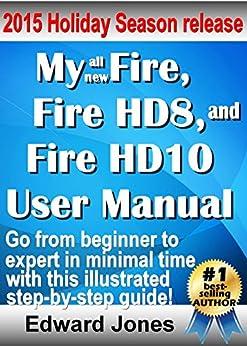 Fire HD8 HD10 User Manual ebook product image