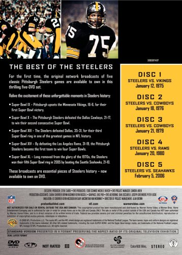 NFL Greatest Games Series: Pittsburgh Steelers Super Bowls from NFL