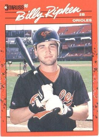 Amazoncom 1990 Donruss Baseball Card 164 Billy Ripken