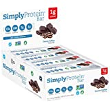 SimplyProtein Bar, Cocoa Coffee, Pack of 12, Gluten Free, Non GMO, Vegan