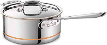 All-Clad 6203 SS Copper Core 5-Ply Saucepan with Lid