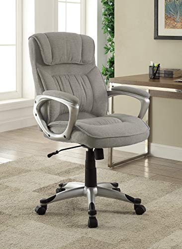 - Serta 47910 Hannah Executive Office Chair, Gray