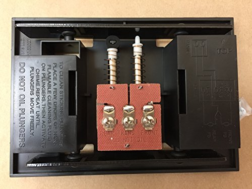 Chime Doorbell Kit - Nutone Broan Door Bell Chime Mechanism Assembly fits most chime models