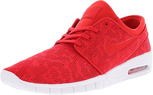 University Shoes Nike SB white Red Max University Red Stefan Janoski Men's XqdXrYOx