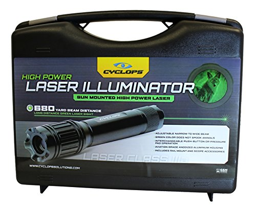 High Power Laser Green (Cyclops LASER ILLUMINATOR - Green laser)