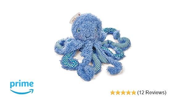 Amazon.com : Bunnies By The Bay Ocho Plush Octopus, Blue, 9\