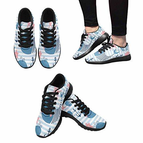 Scarpa Da Jogging Leggera Da Donna Running Jogging Leggera Easy Go Walking Sport Comfort Scarpe Da Corsa Multi 2