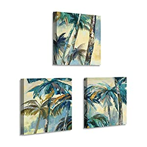 51anR78nq1L._SS300_ Best Palm Tree Wall Art and Palm Tree Wall Decor For 2020