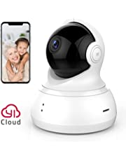 YI Home Camera 360 Degree Security Surveillance with Motion Detection, 2-Way Talk, Remote View APP and Cloud Storage (720p White)