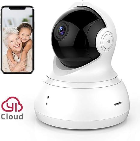 YI Dome Camera 1080p HD Pan//Tilt//Zoom Wireless IP Security Surveillance System