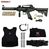 Cheap MAddog Tippmann Cronus Tactical Paintball Sergeant Paintball Gun Package – Black/Olive