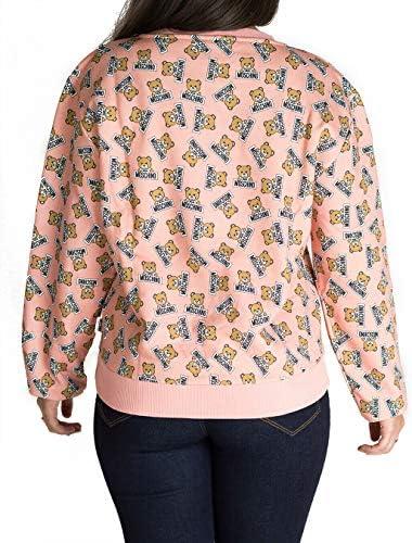 Moschino Damen Sweatshirt Teddy Artikel A1706 Pink