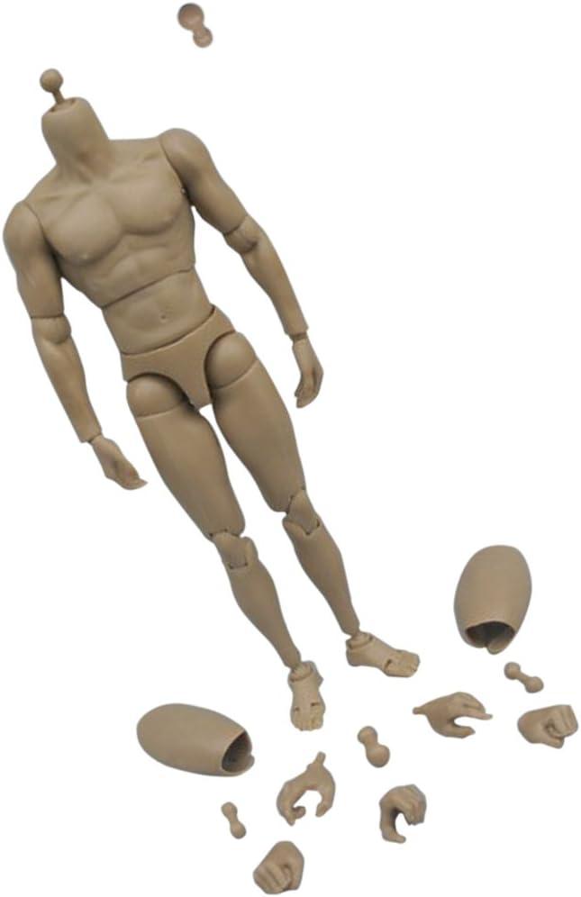 SINTETICO dell/'uomo che gli uomini Body Action Figure statuetta in scala 1//6 NUOVO