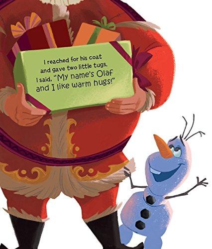 Disney Frozen Olaf's Night Before Christmas: 9781474829403: Amazon ...